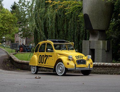 La 2CV R-FIT fait son show au Goodwood Revival
