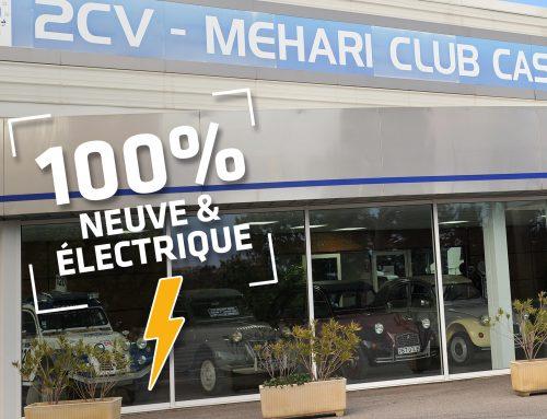 Commandez votre 2CV électrique